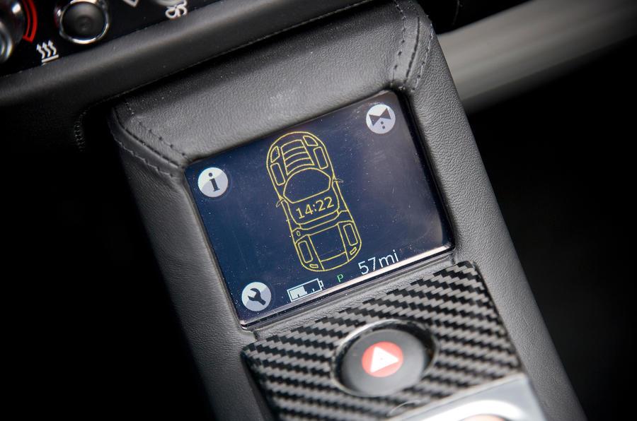 Tesla Roadster powertrain management