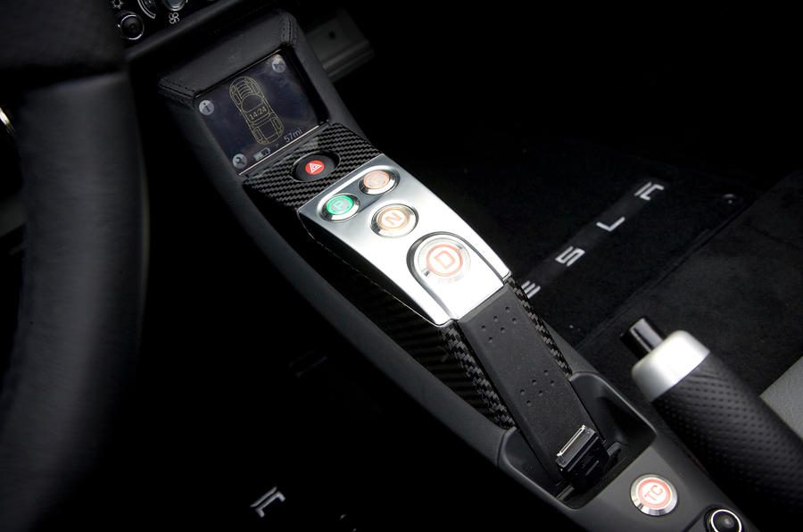Tesla Roadster automatic gearbox