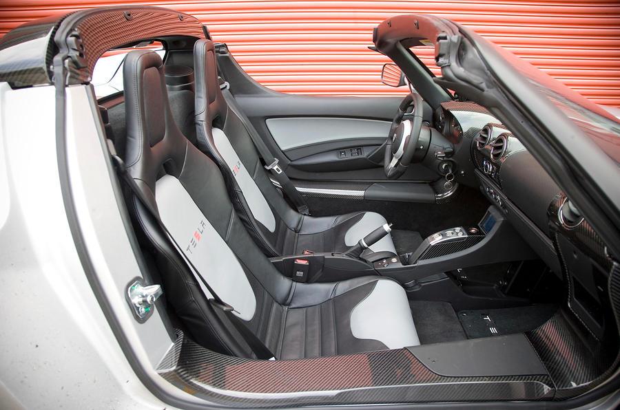 ... Tesla Roadster Interior ...