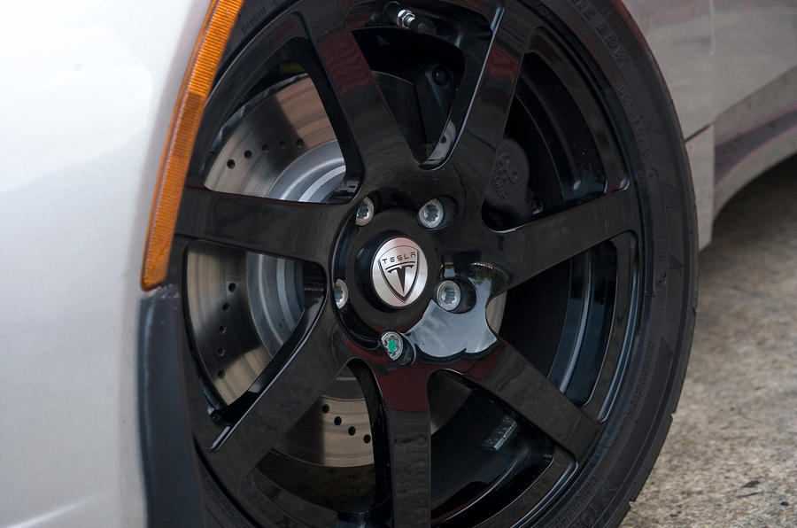 16in Tesla Roadster alloy wheels