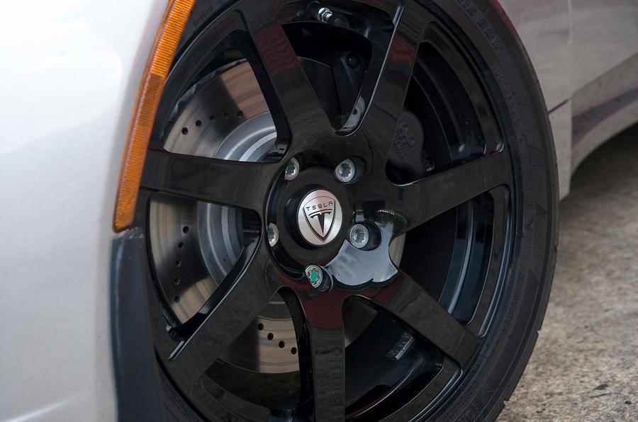 16in Tesla Roadster alloy wheels