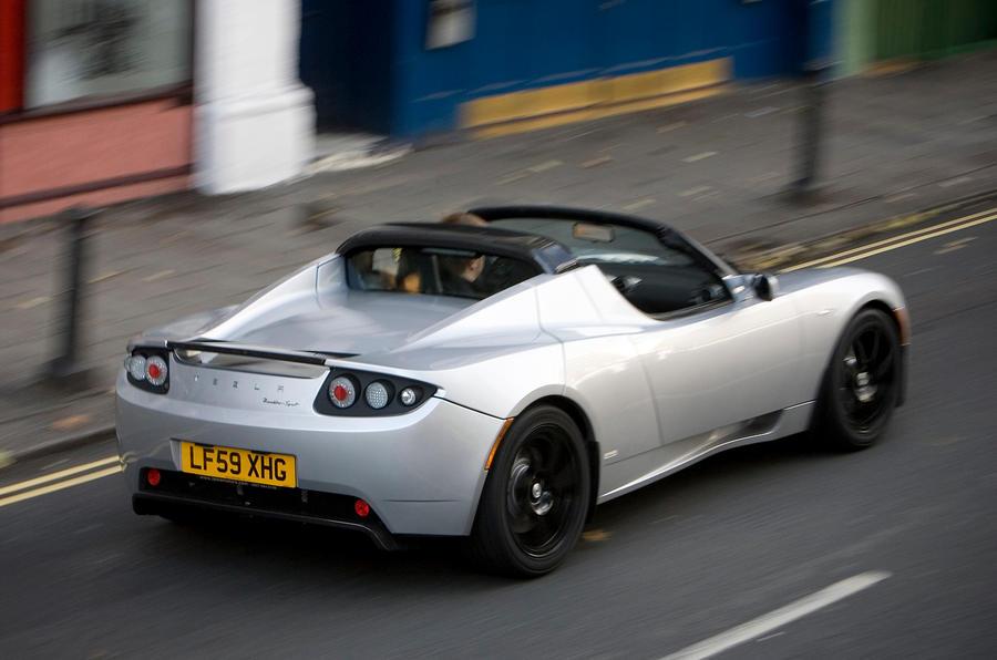 Tesla Roadster rear quarter