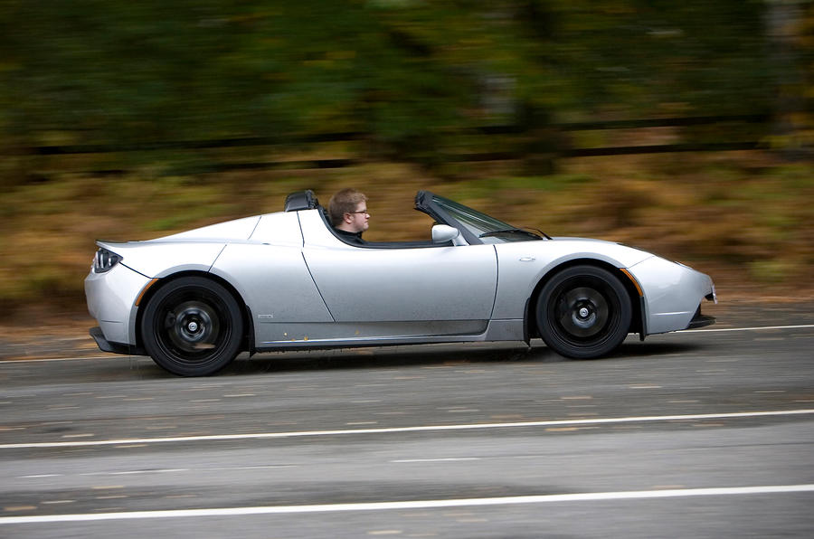 Tesla Roadster side profile