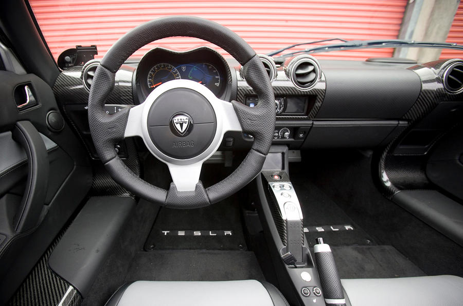 Tesla Roadster dashboard