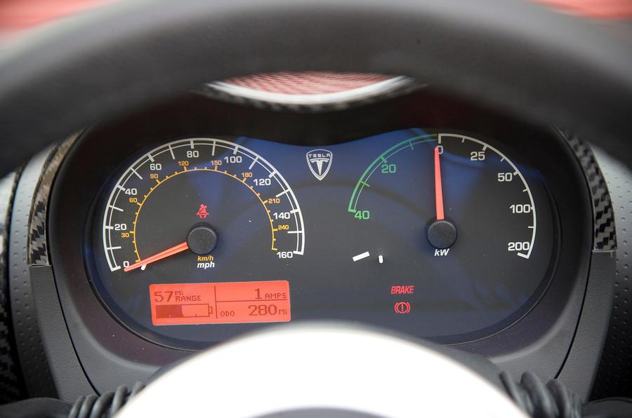 ... Tesla Roadster Instrument Cluster ...