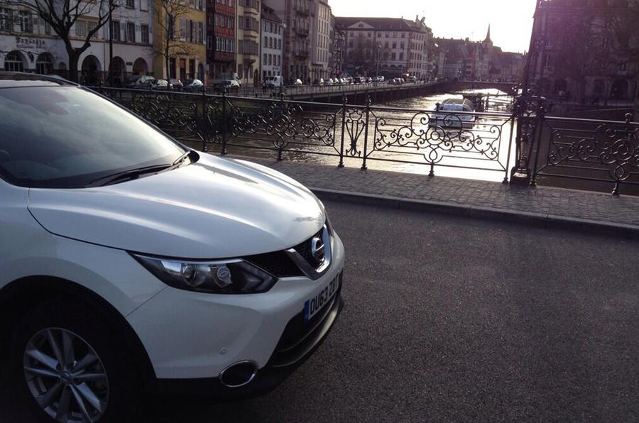 Nissan Qashqai from Sunderland to Istanbul, day two