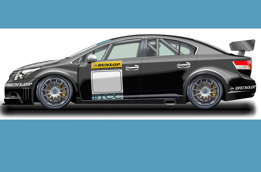 Next-gen BTCC racer previewed
