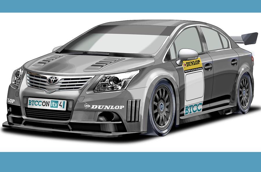 Next-gen BTCC racer previewed
