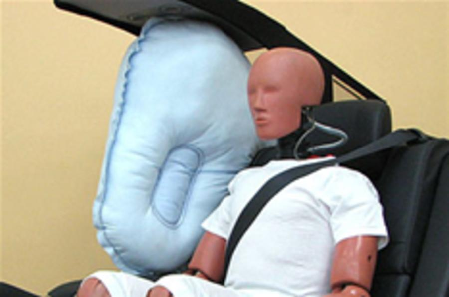 Toyota's centre airbag first