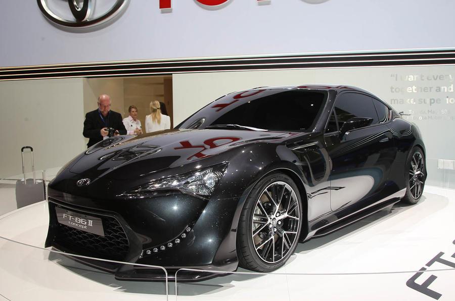 Geneva motor show: Toyota FT-86 II