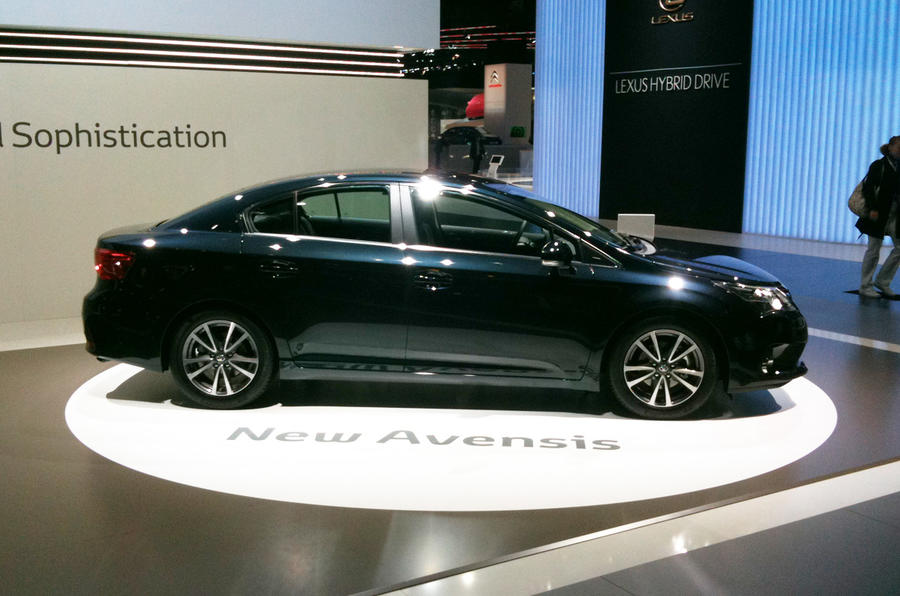 Frankfurt show - Toyota Avensis