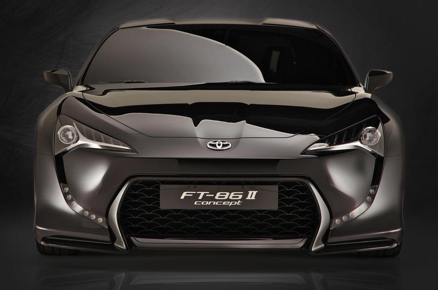 Shanghai motor show: Toyota FT-86 II