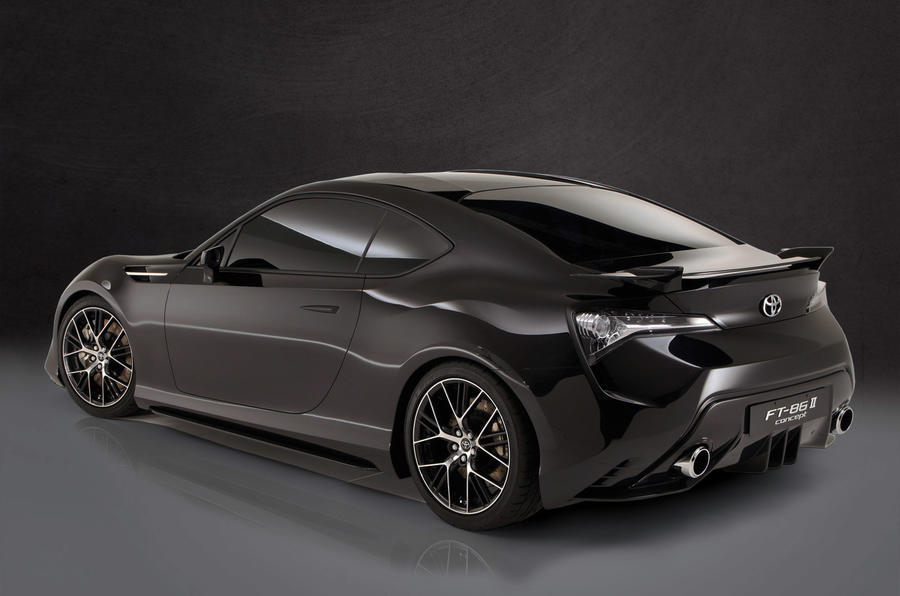 Toyota FT-86 - under the skin