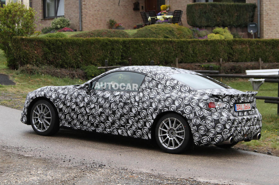 Toyota FT-86 spied testing