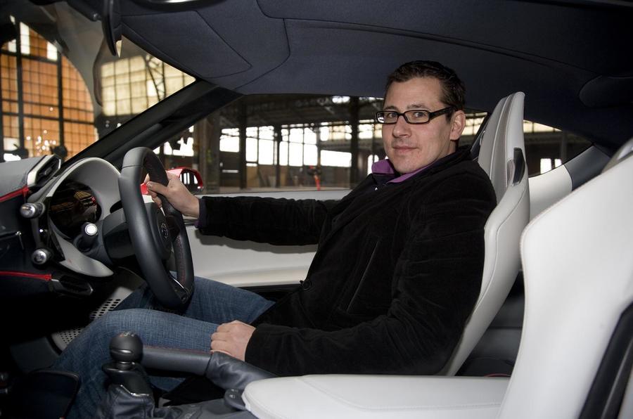 Q&A Jaromir Cech, Toyota FT-86 designer