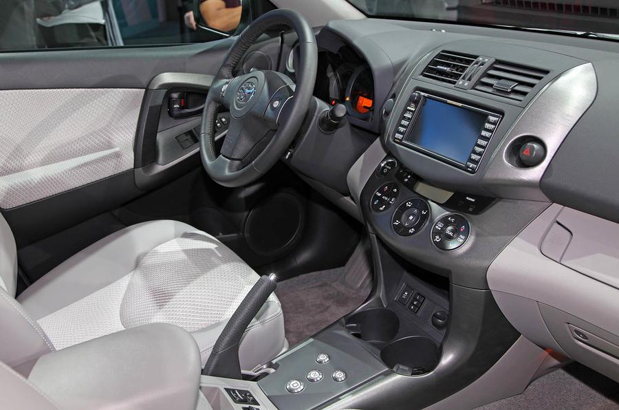 LA motor show: Tesla's Toyota RAV4