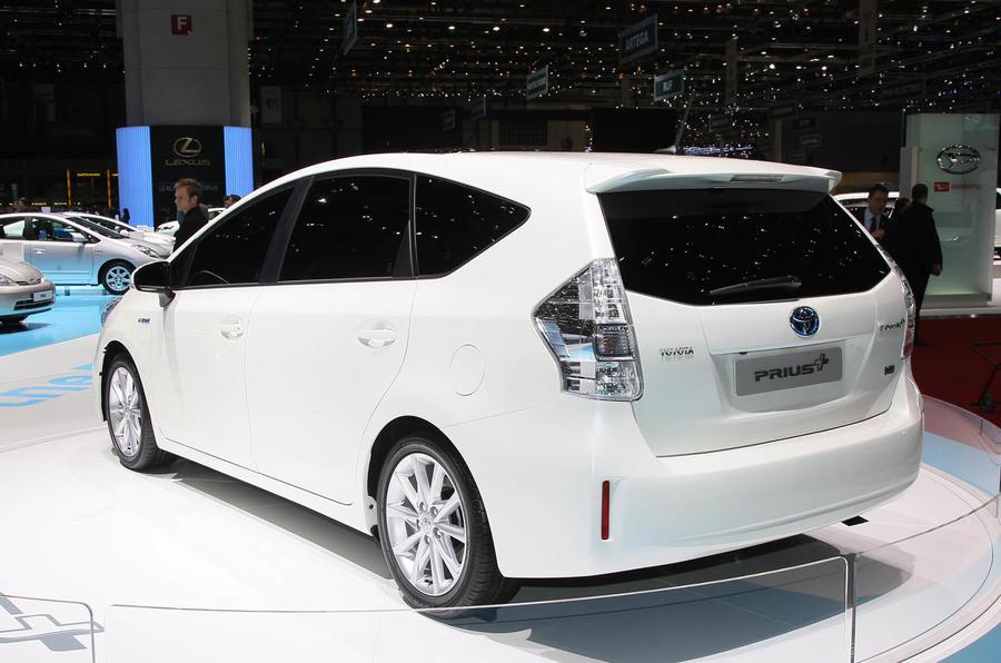 Geneva motor show: Toyota Prius +