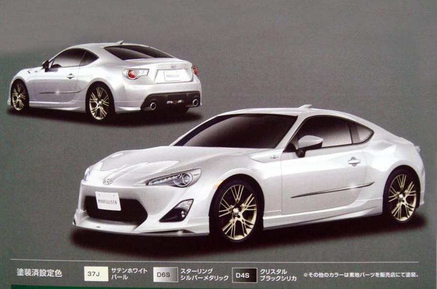 Toyota FT-86 pics leaked