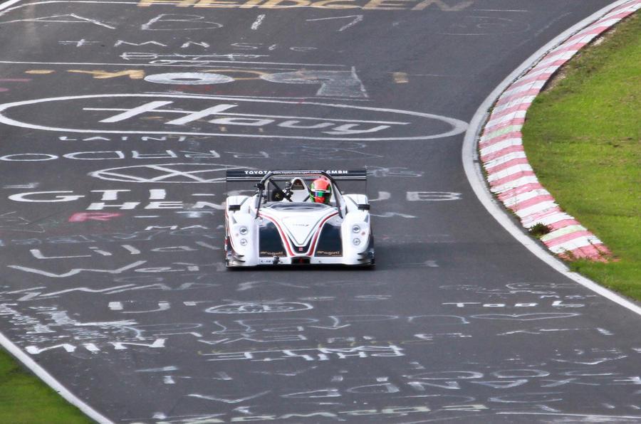 Toyota takes Nordschleife EV record