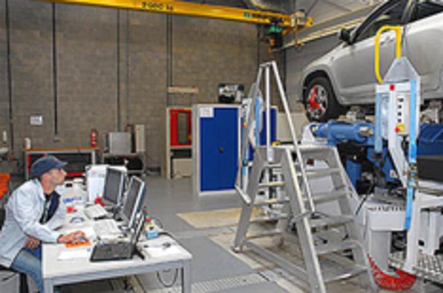 Toyota's new EU facilities