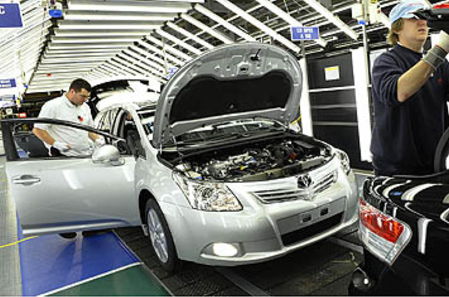 Toyota cuts 750 UK jobs