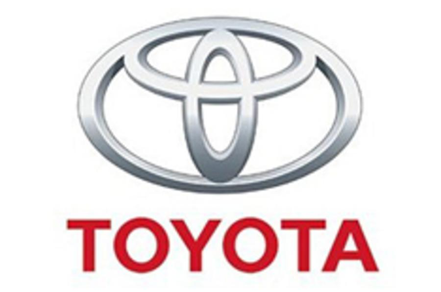 Toyota profits drop