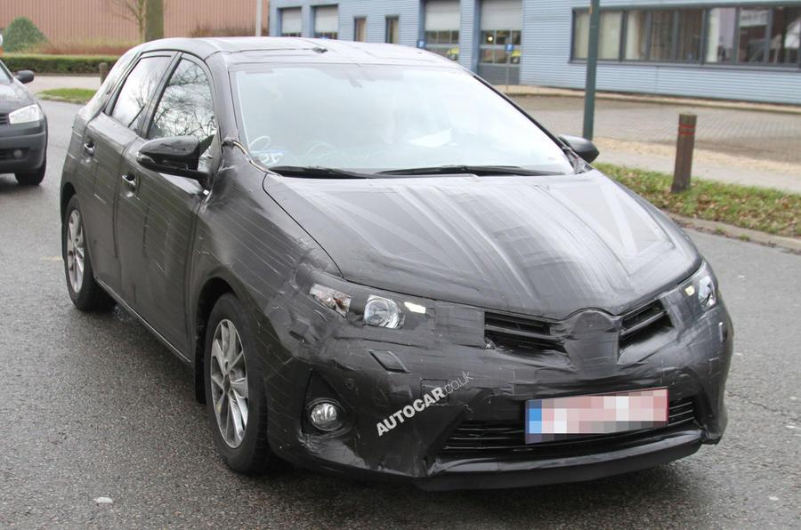 Next Toyota Auris spied