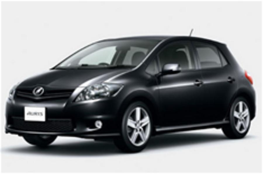 Tokyo show: Toyota Auris facelift