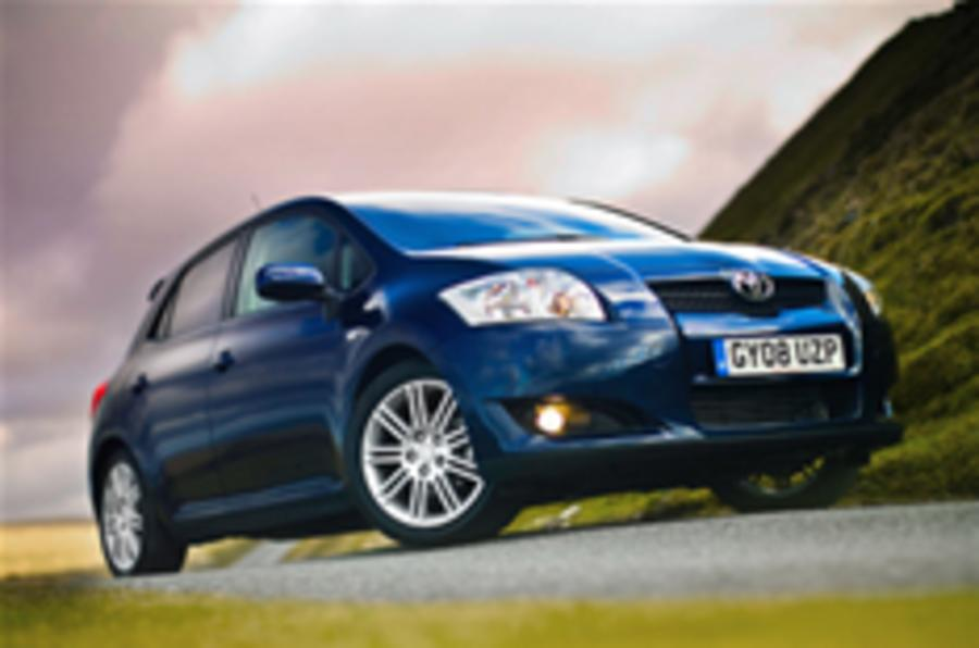 New look for Toyota Auris