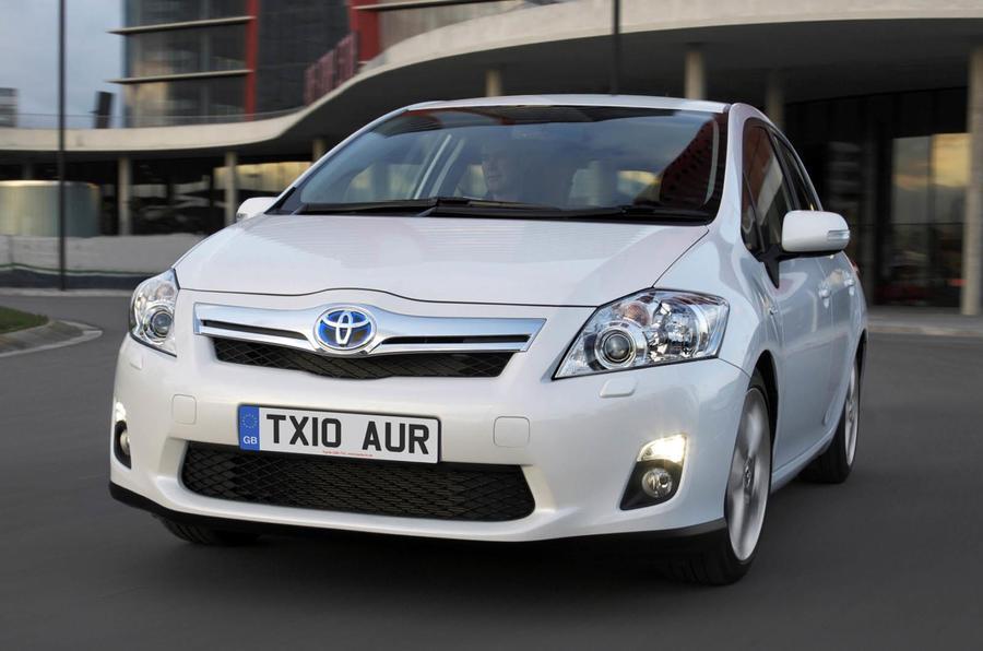 Auris Hybrid starts from £19k