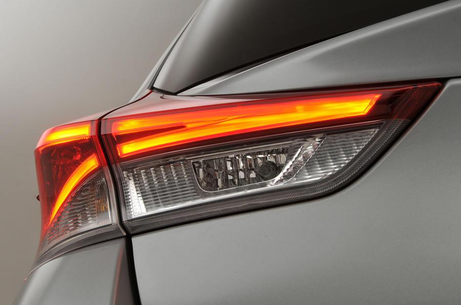 Toyota Auris rear lights