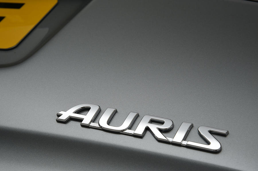 Toyota Auris Touring Sports badging