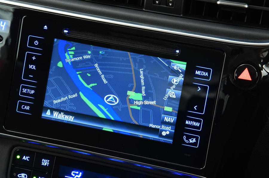Toyota Auris Touring Sports infotainment