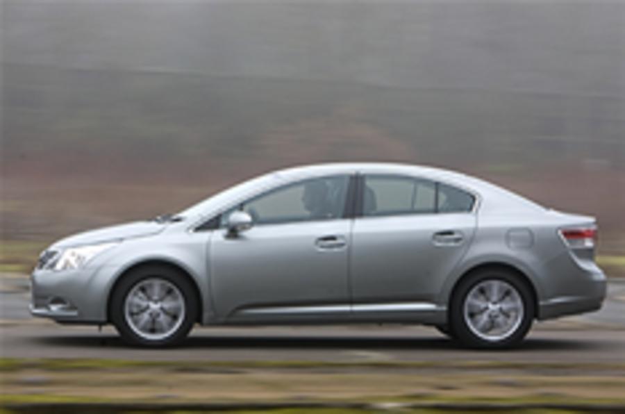 Toyota Avensis range updated