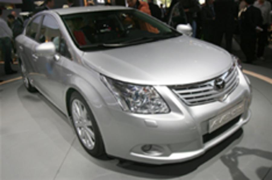 Paris show: Toyota Avensis