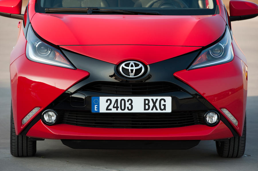 Toyota Aygo prototype front end