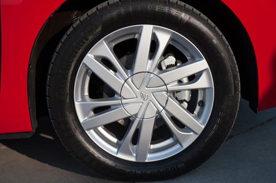 15in Toyota Aygo prototype alloys