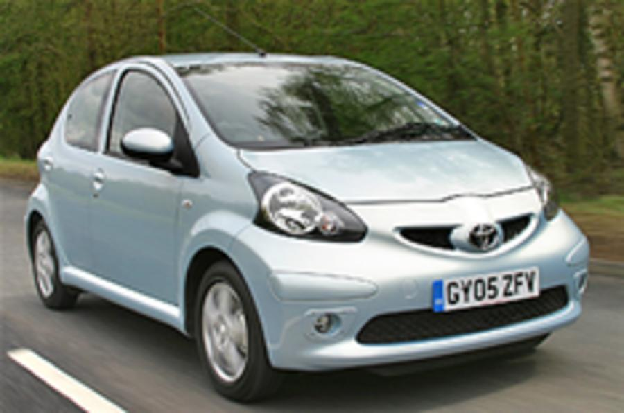 City cars top residual value chart