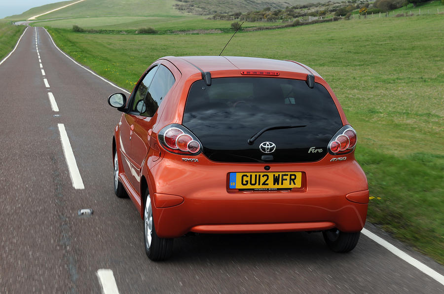 Toyota Aygo rear end
