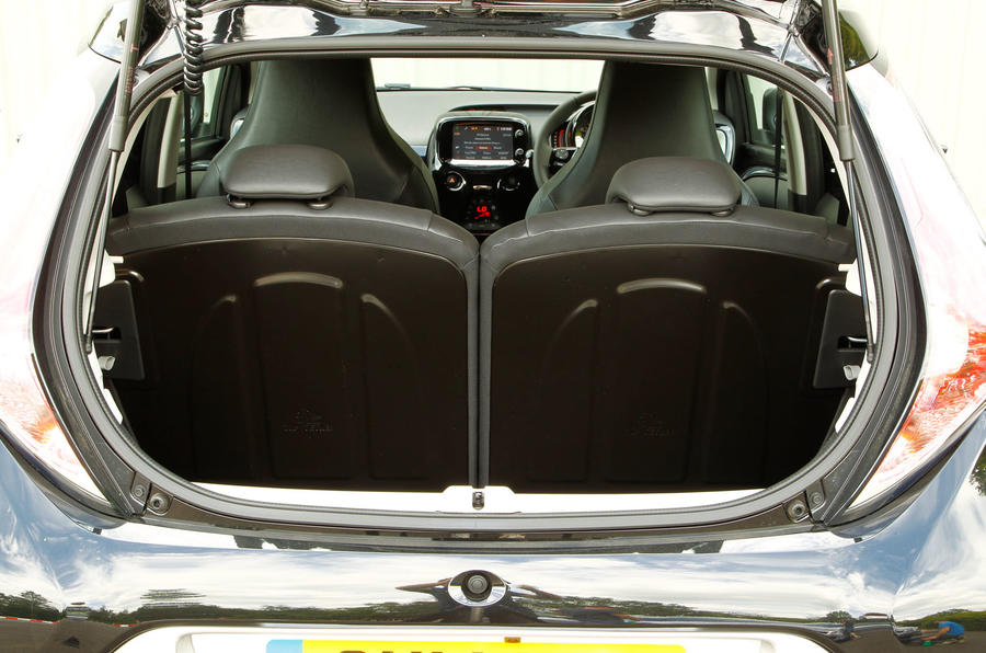 Toyota Aygo boot space