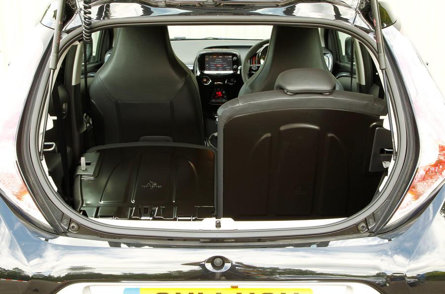 Toyota Aygo seat flexibility