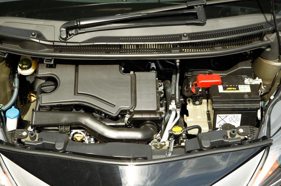 1.0-litre Toyota Aygo petrol engine