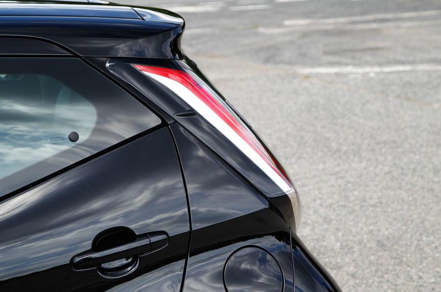 Toyota Aygo rear light