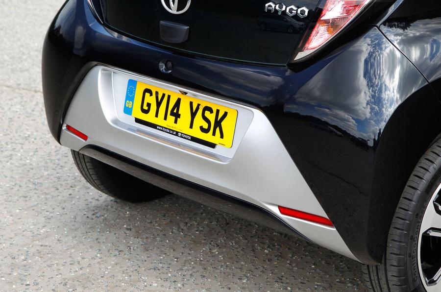 Toyota Aygo rear diffuser
