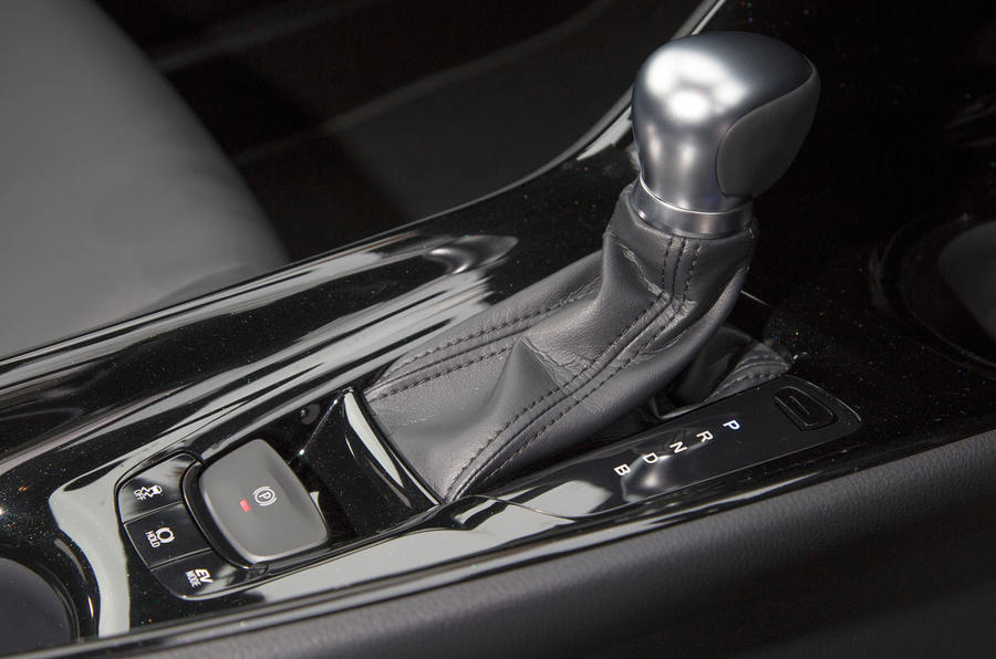 Toyota C-HR automatic gearbox