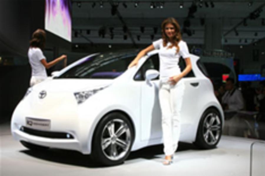 Frankfurt show: Toyota's small iQ