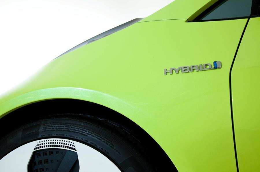 Detroit motor show: Toyota hybrid