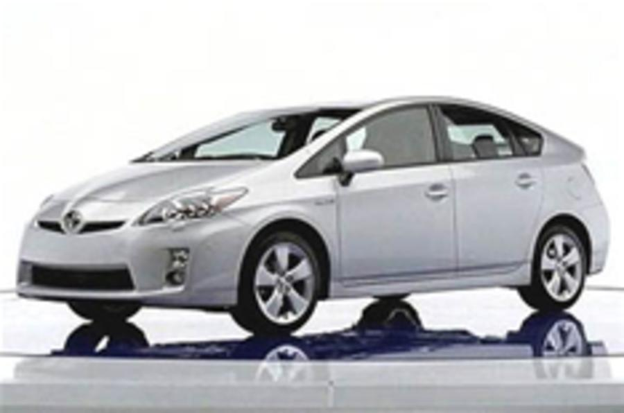 Toyota Prius leaks early
