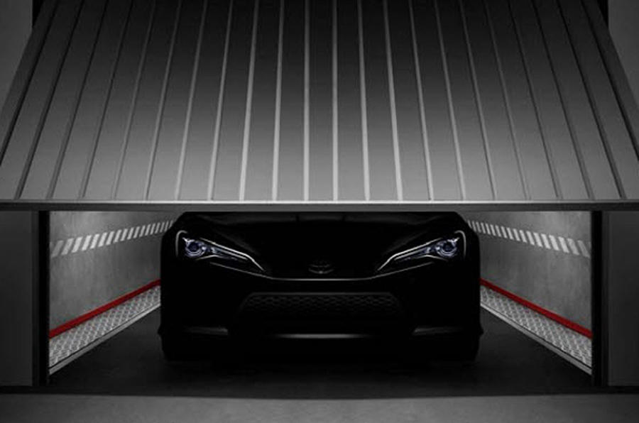 Geneva motor show: Toyota coupe concept