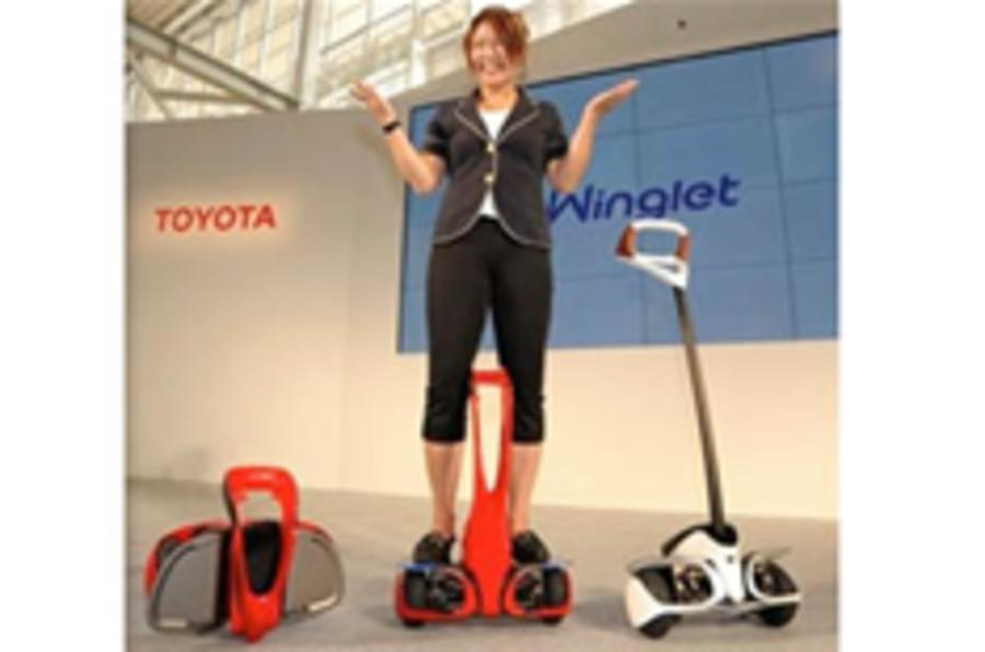 Toyota unveils its Segway